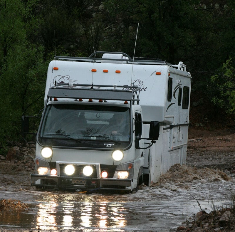 Hit Wash Water Crossing, Santa Maria Mountains Arizona