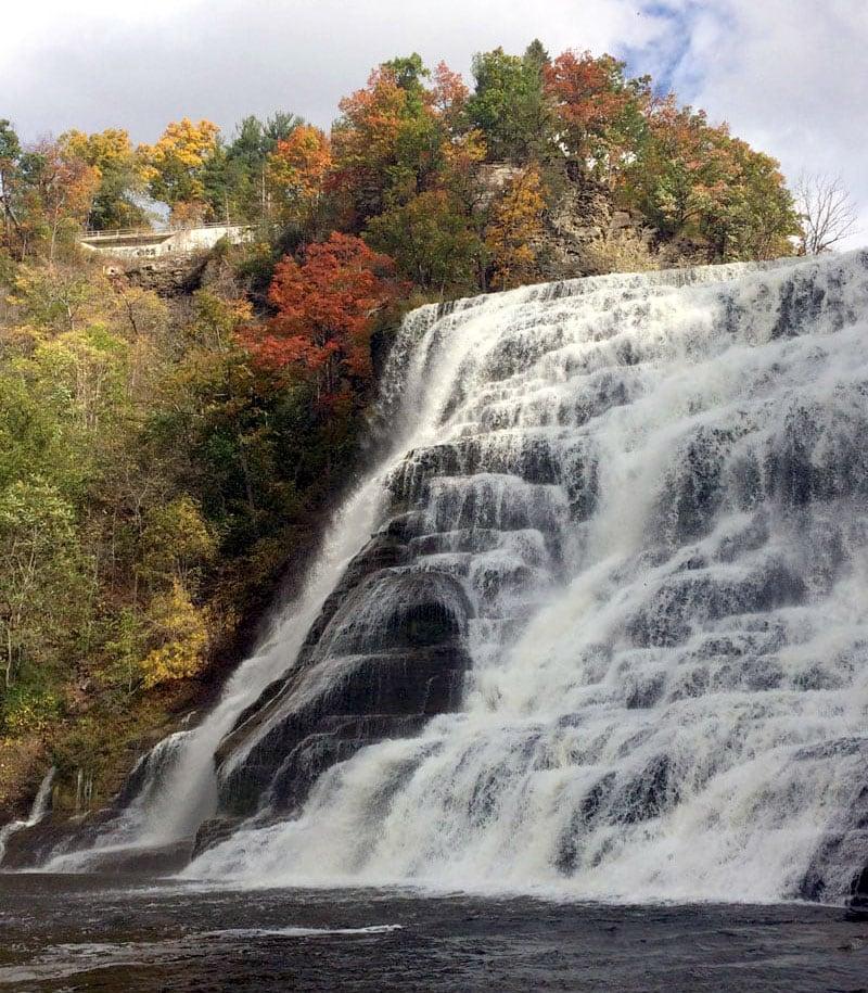 Ithaca New York Waterfall