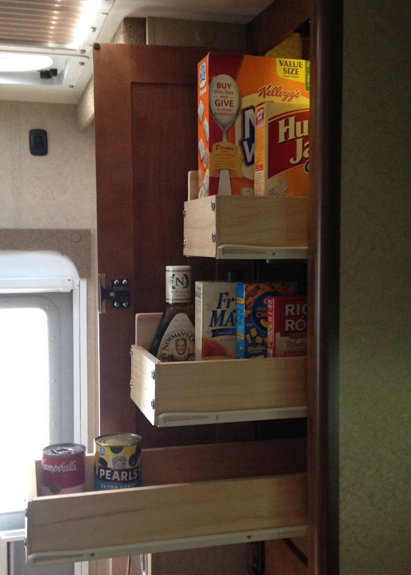 Lance Camper Drawer Glides Pull Out Pantry