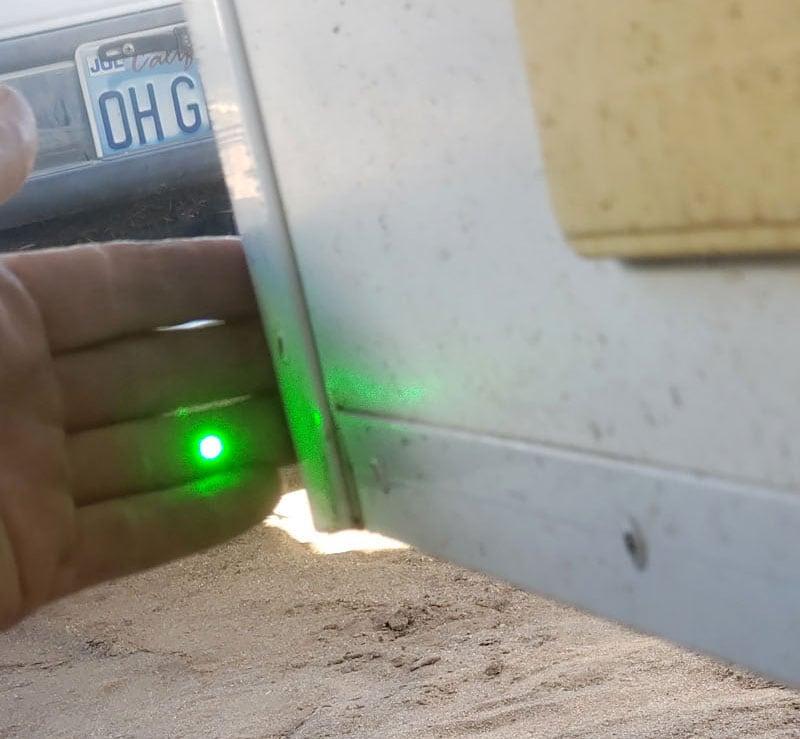 Laser Coming Towards Camera 6