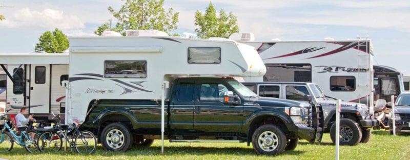 Oshkosh Air Show Camping