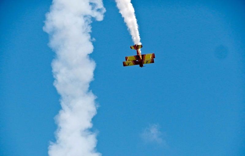 Oshkosh Air Show Plane Tricks