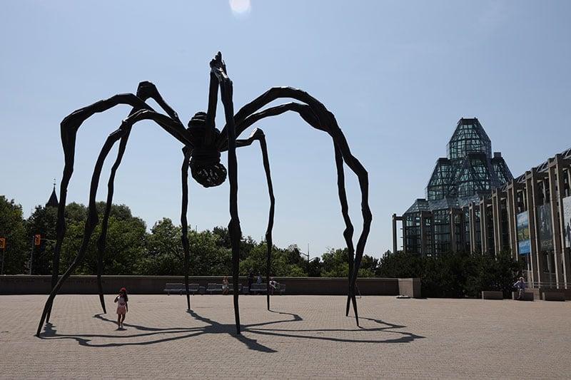 Ottawa Art Gallery Spider