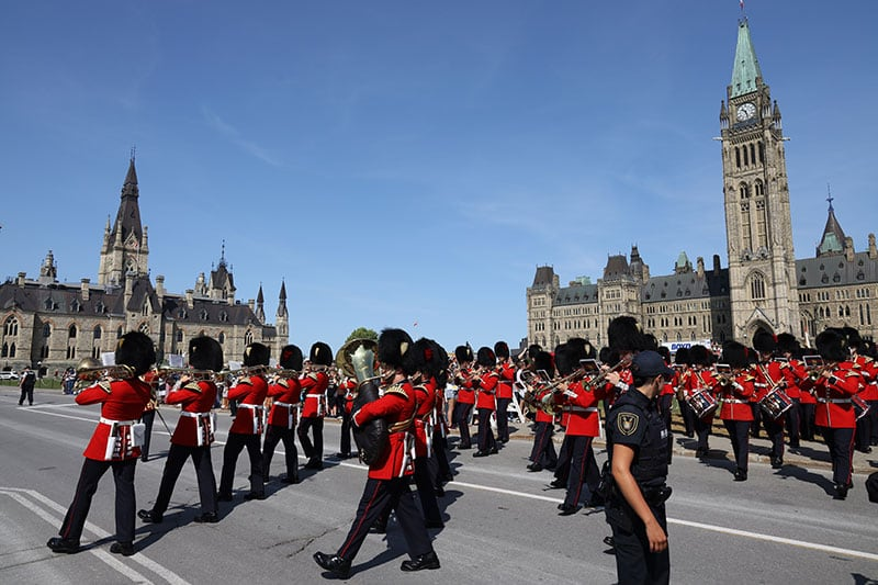 Ottawa Changing of the Guard Parliament