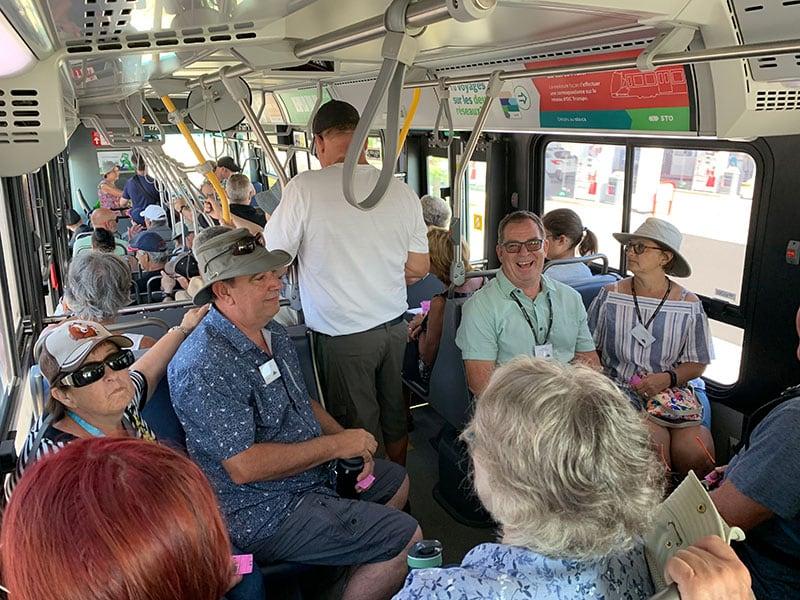 Ottawa Gatinuea City Bus