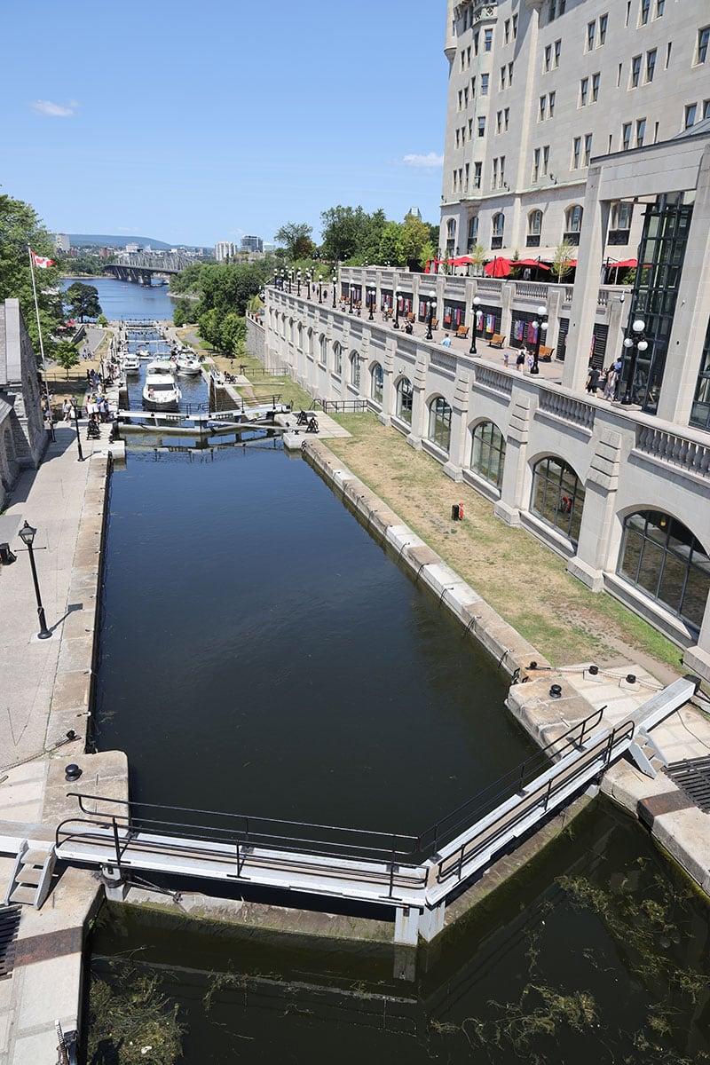 Ottawa Rideau Locks 8 Of Them
