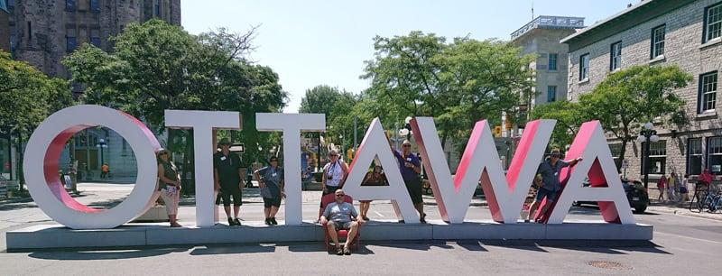 Ottawa Sign City Ontario