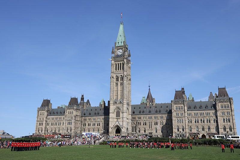 Parliament Ottawa Changing Guard