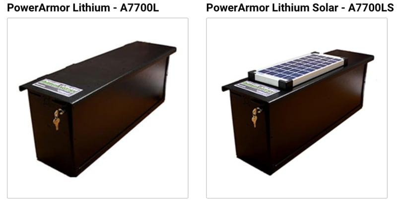PowerArmor Lithium Solar Torklift