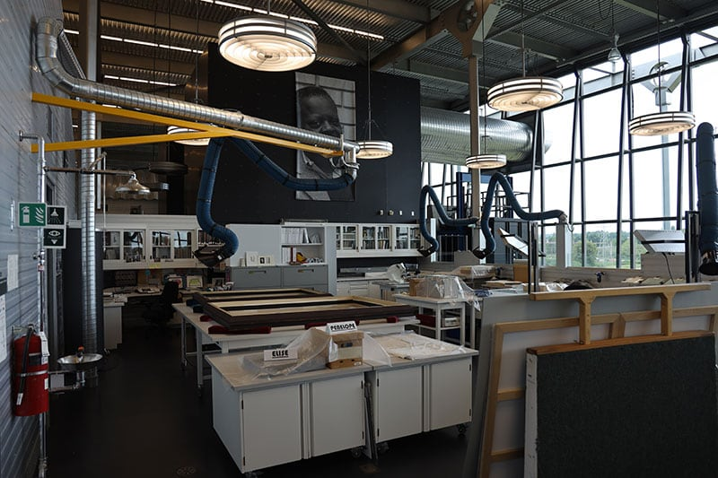Preservation Center Of Canada Archive Lab