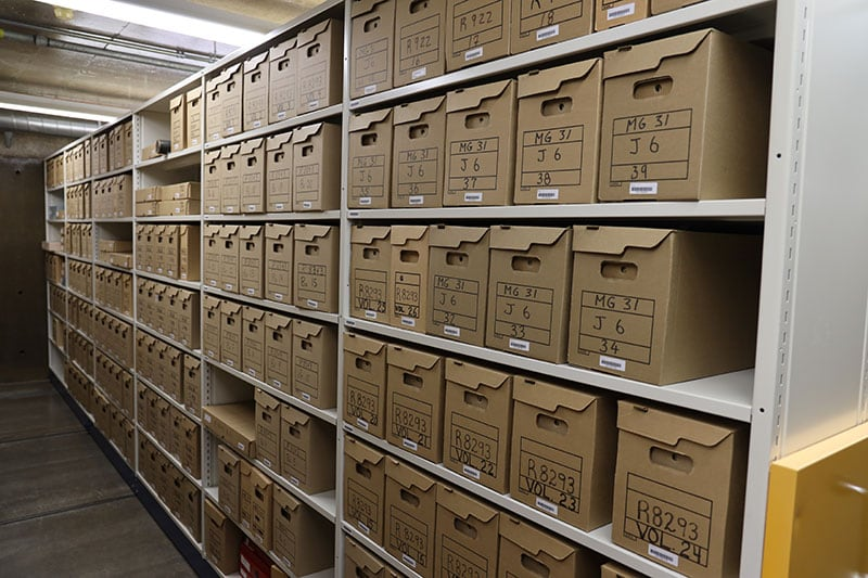 Preservation Center Of Canada Boxes Documents