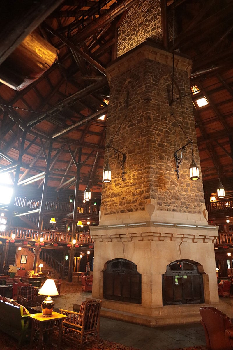 Quebec Chateau Fireplace