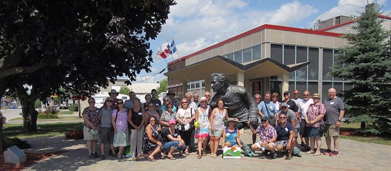 Quebec Day 1 Guy Lafleur Group