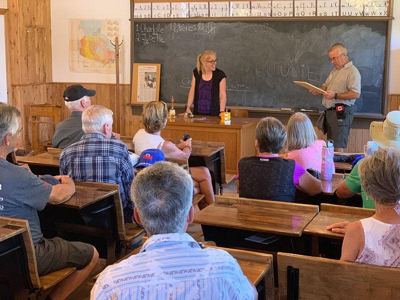Quebec Day 2 Schoolhouse Ferme Dalton