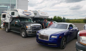 Rolls Royce and Campers