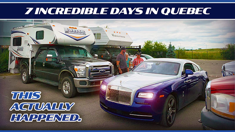 Truck Camping In Quebec Canada
