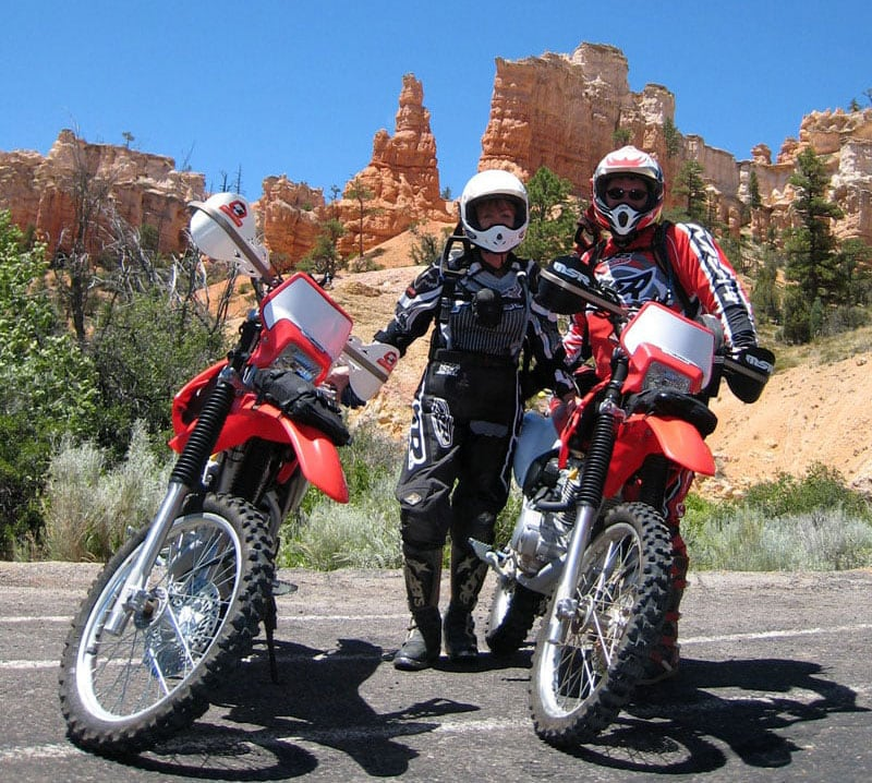 Riding Near Bryce Canyon National Park Utah