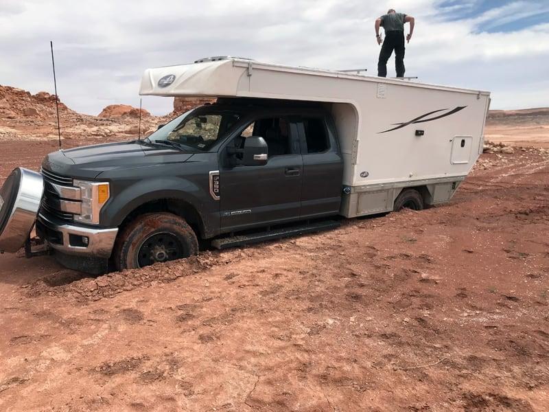 Stuck At Lake Powell Camping