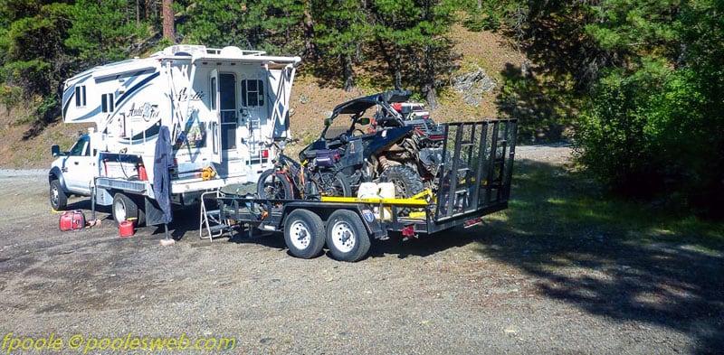 Towing ORV Arctic Fox Camper