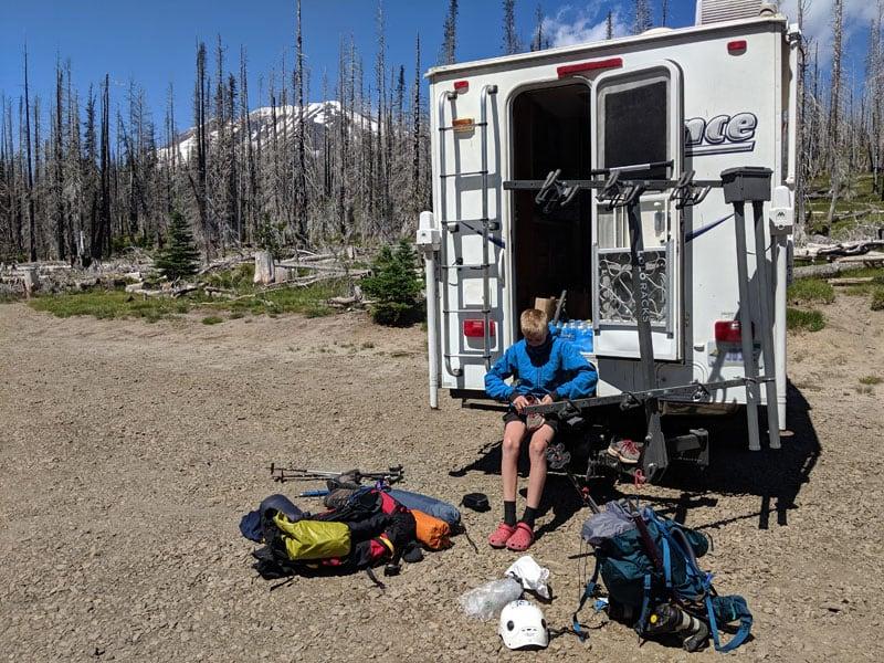 Camping Lance Kids