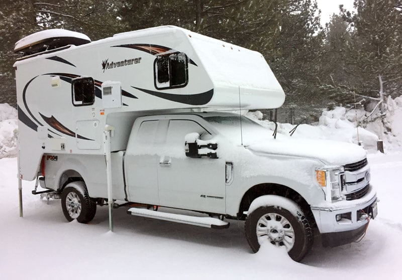 Four Season Camping Mammoth Lakes