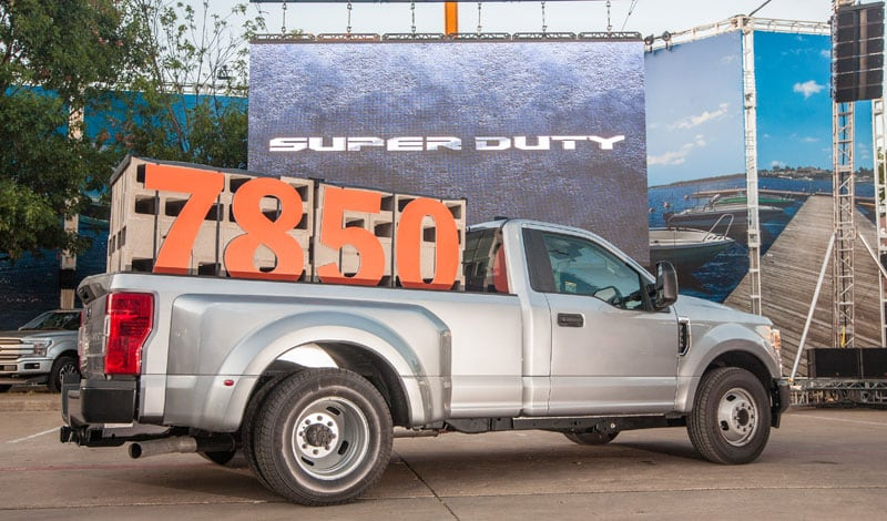 2020 Ford Super Duty 7850 Payload Capacity