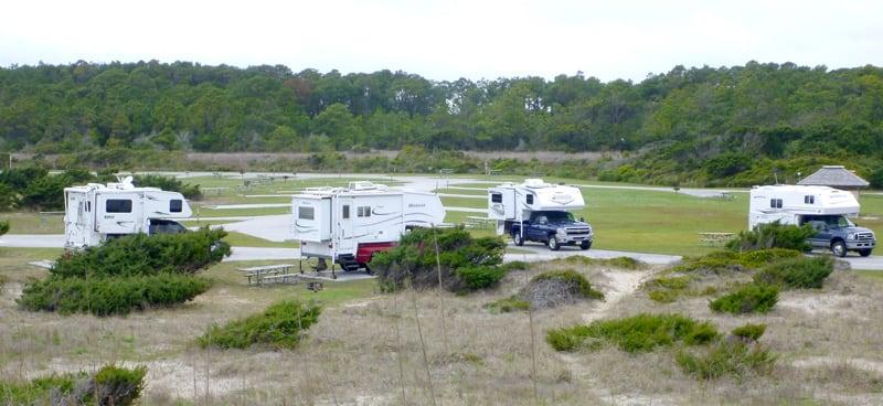 Atlantic Ocean Ocrocoke Island North Carolina