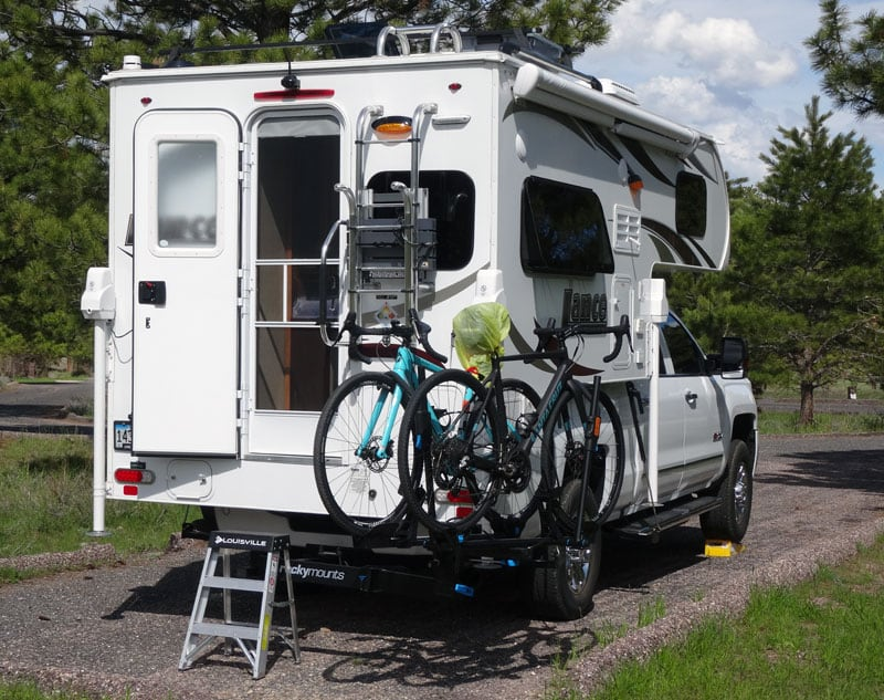 Bike Solution With Lance Camper
