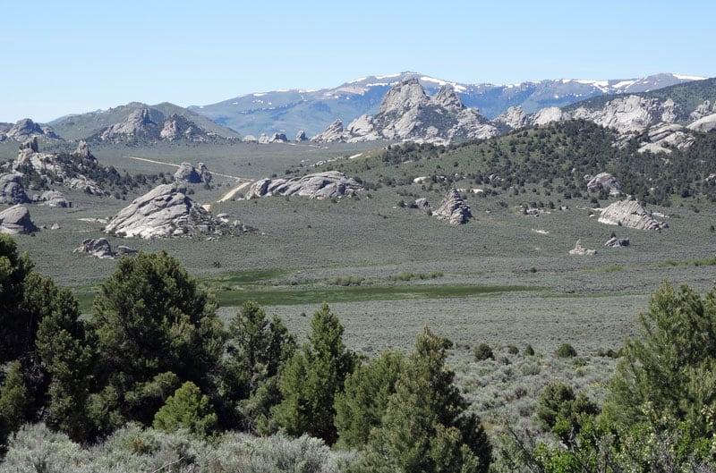 City Of Rocks In Idaho