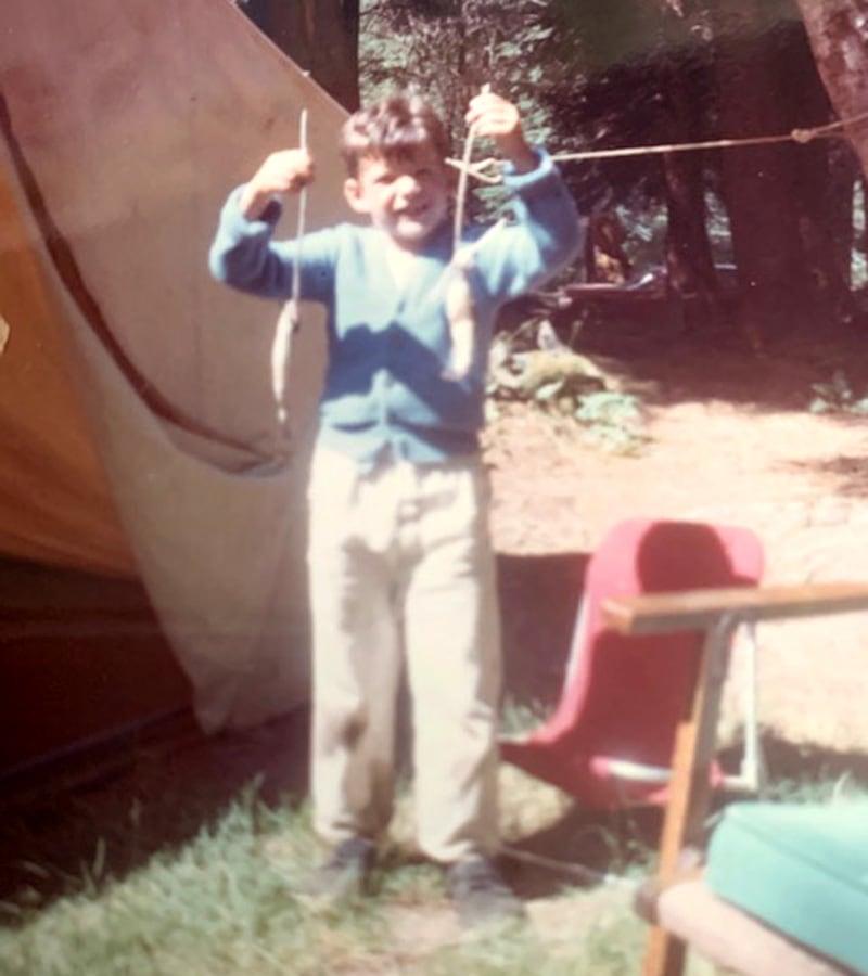 Doug Fishing And Tenting
