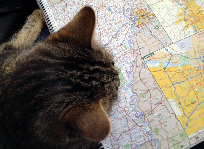 Harley Helps Us Plan Our Trips