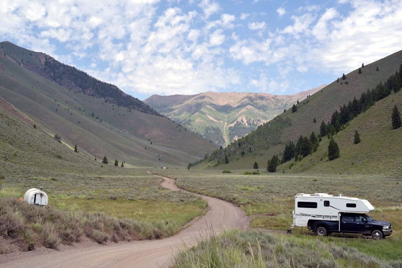 Idaho National Forest Free Camping