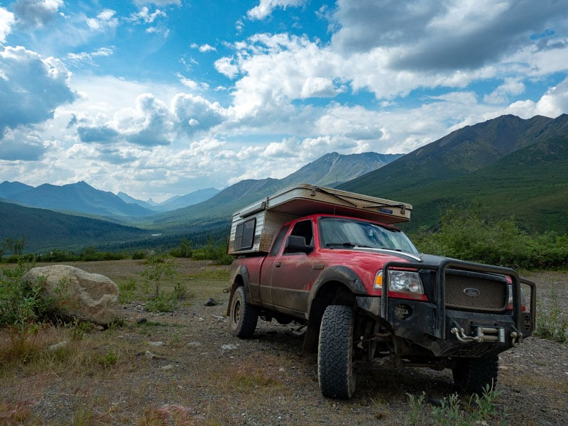 Martin Spriggs travels the Dempster Highway