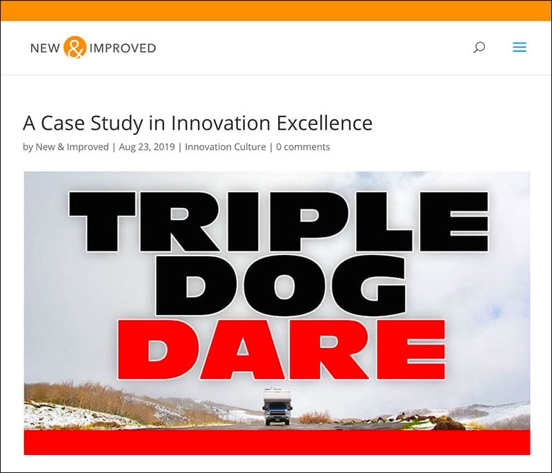 New Improved Covers Triple Dog Dare