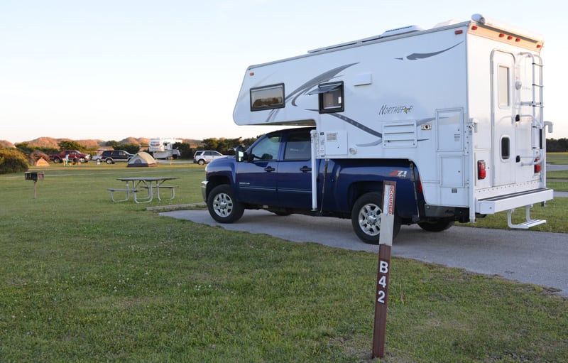 Ocracoke Dry Camping Campground