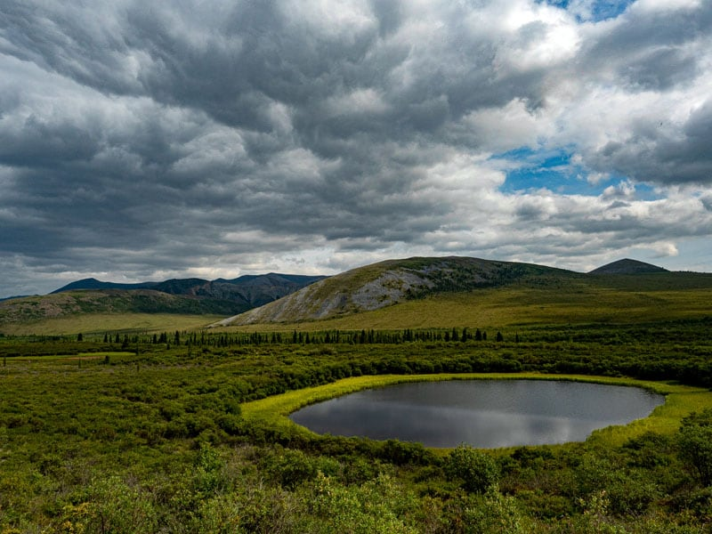 Pristine arctic landscape awaits travels all along the Dempster Highway