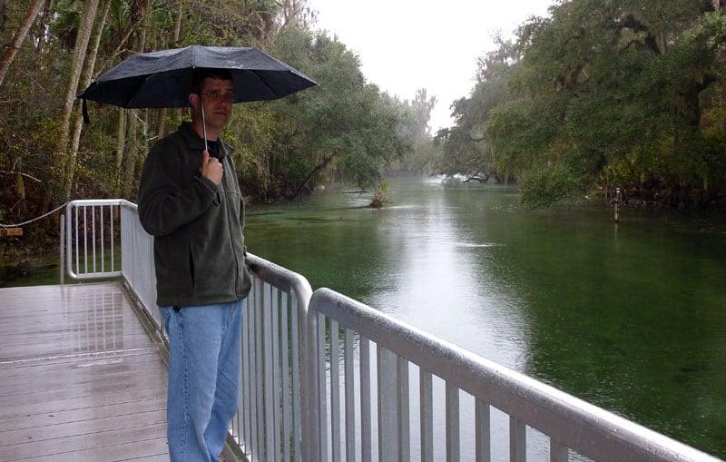Rain At Blue Spring State Park