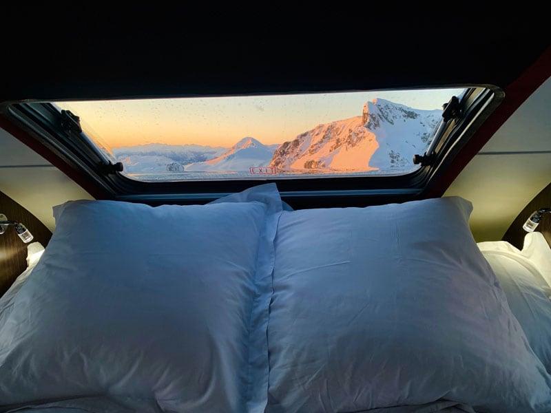 Skylight In Cirrus Camper