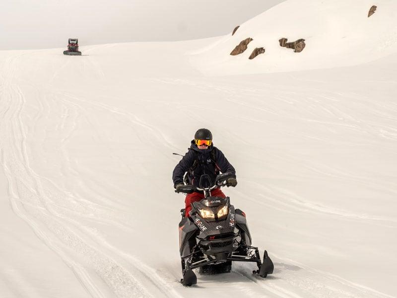 Snowmobile Ice Cap Adventures