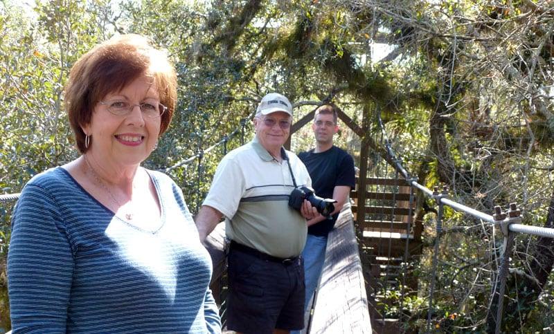 Swinging Bridge Trail Myakka