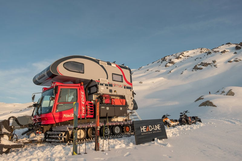 Truck Camper Perfect Fit For Snowcat