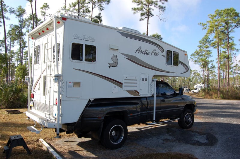 Truck Campers In The Everglades