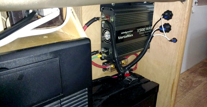 VertaMax 1500 Watt Inverter Installed