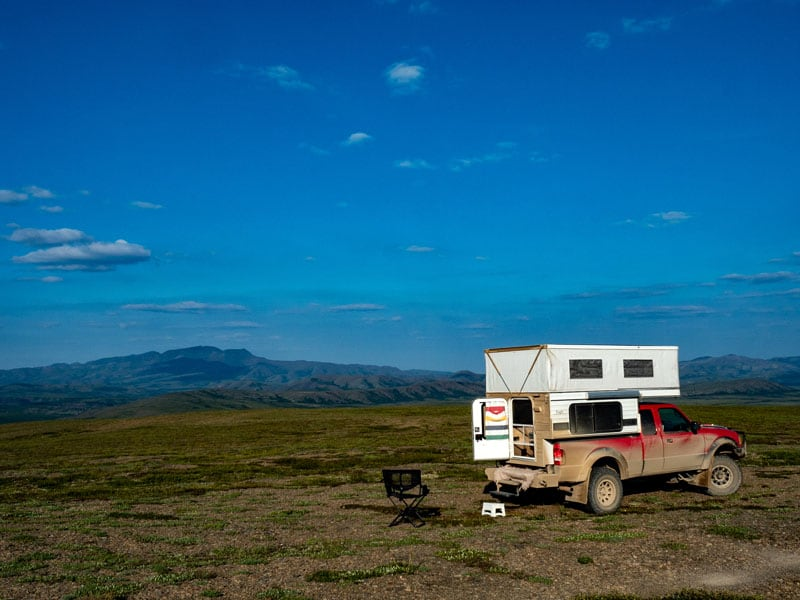 Backcountry Camping Yukon Northwest Territory Border