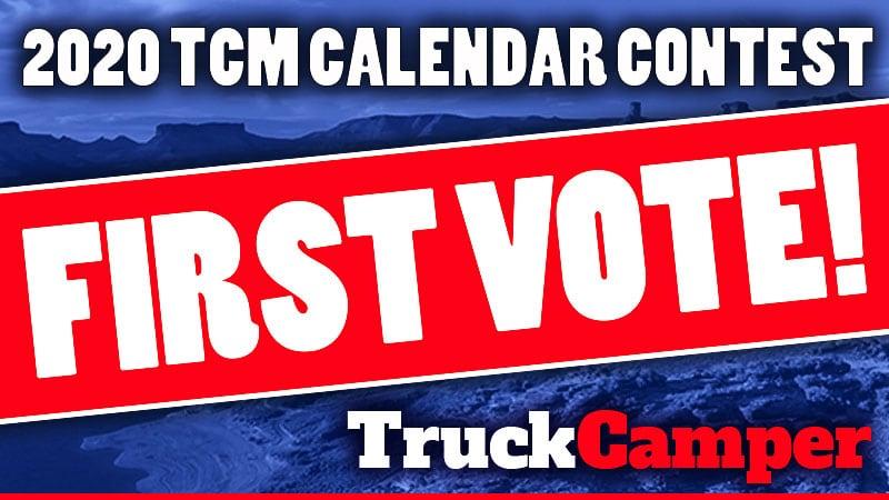 2020 Calendar First Vote