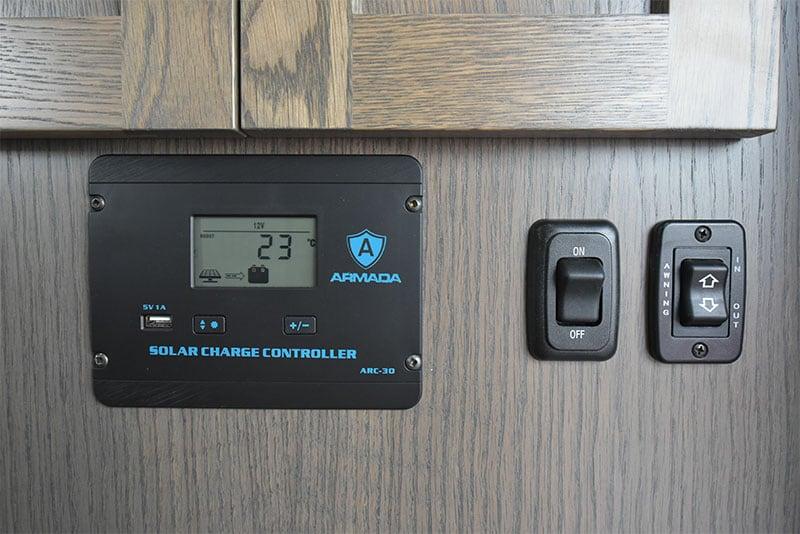 2020 Northern Lite New Solar Controller