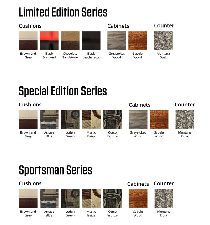 2020 Northern Lite Swatches And Decors