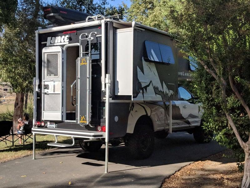 Altimeter Camping Kerns River California