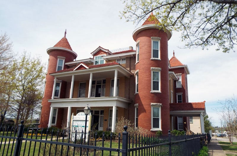 Belvidere Mansion Outside