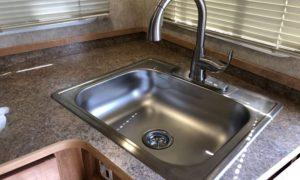 Camper Sink High Faucet